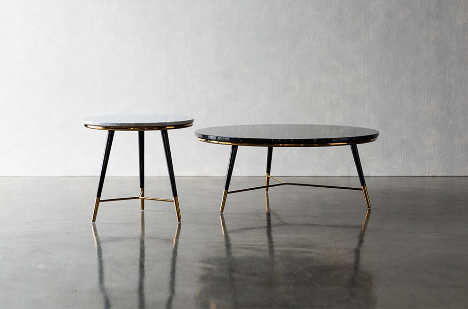 Birman Gold Marble Table(SET)